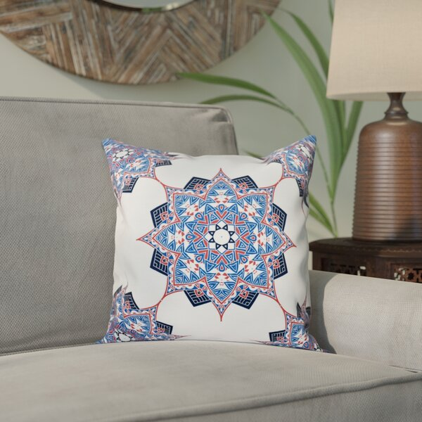 Meetinghouse Rhapsody Geometric Print Throw Pillow by Bungalow Rose