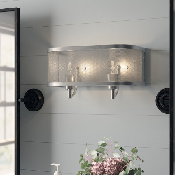 Tensed 2 Light Vanity Light [Laurel Foundry Modern Farmhouse]