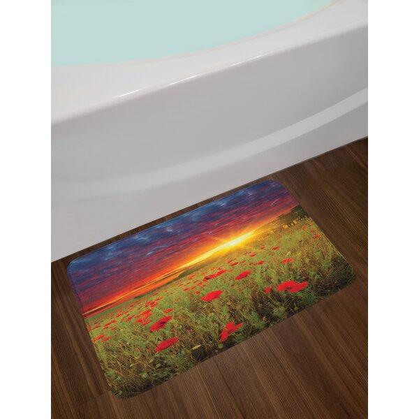 Meadow Flower Bath Rug by East Urban Home