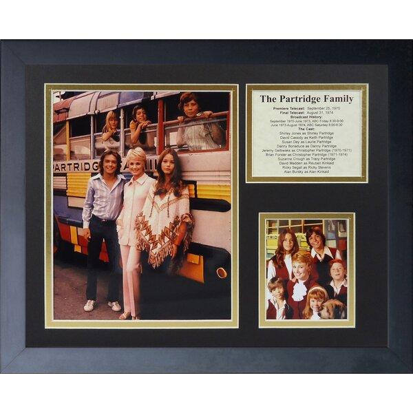 The Partridge Family Framed Memorabilia by Legends Never Die