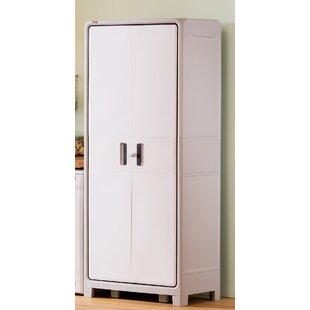 Optima Wonder Plastic 72.1  H x 30.7  W x 18.5  D Storage Cabinet  sc 1 st  Wayfair & Garage Storage Cabinets u0026 Shelves Youu0027ll Love | Wayfair