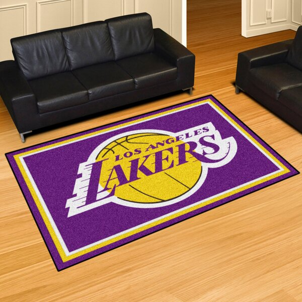NBA - Los Angeles Lakers 5x8 Doormat by FANMATS