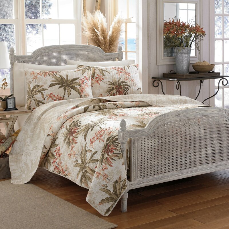 Bonny Cove Reversible Quilt Set By Tommy Bahama Bedding