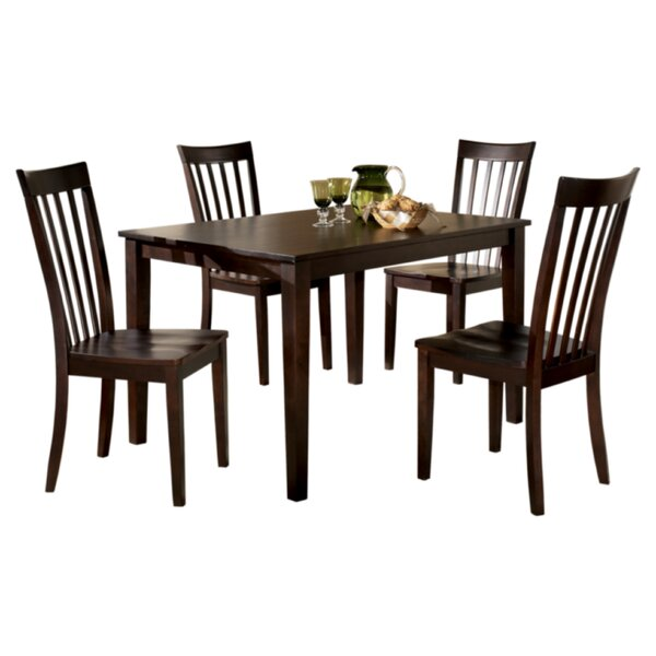 Crumley 5 Piece Dinette Set by Charlton Home