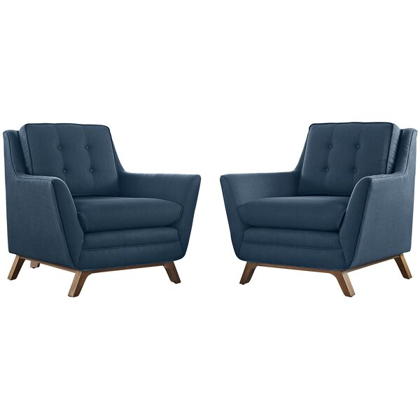 Binder Armchair (Set of 2) by George Oliver
