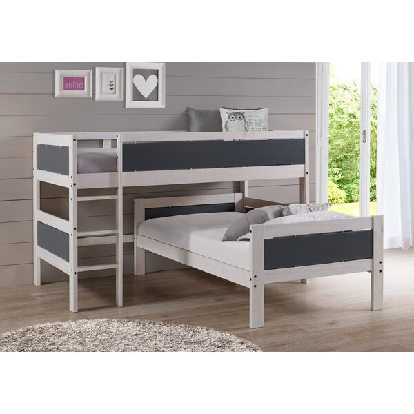 Tecca Twin over Twin Loft Bed by Harriet Bee