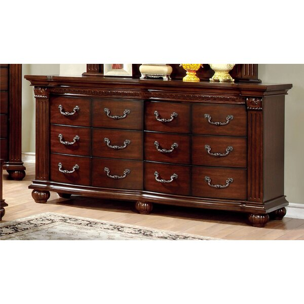 Crispin 6 Drawer Double Dresser by Hokku Designs