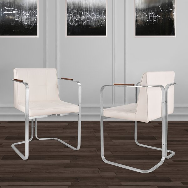 Varga Upholstered Dining Chair (Set of 2) by Orren Ellis