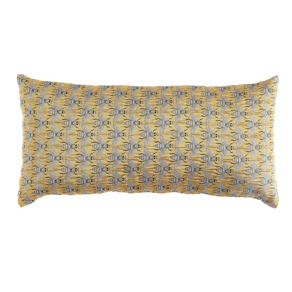 Riffle Bee Lumbar Pillow by Charlton Home