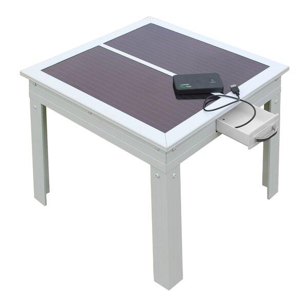 Savana Solar Patio Table by Nature Power