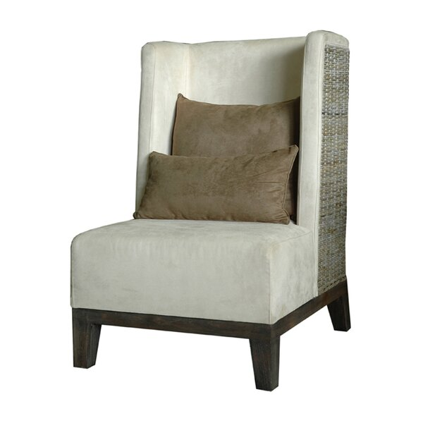 Mackey Wingback Chair by Bayou Breeze