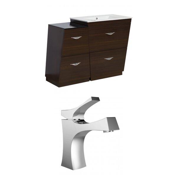 Vee 41 Single Bathroom Vanity Set by American Imaginations