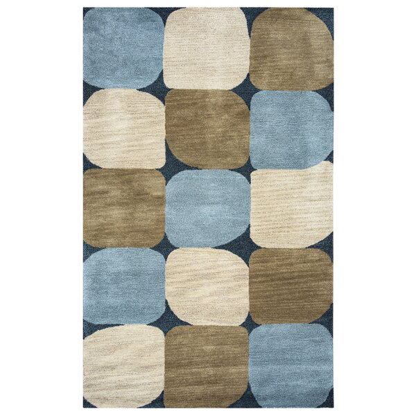 Bari Hand-Tufted Blue Area Rug by Meridian Rugmakers