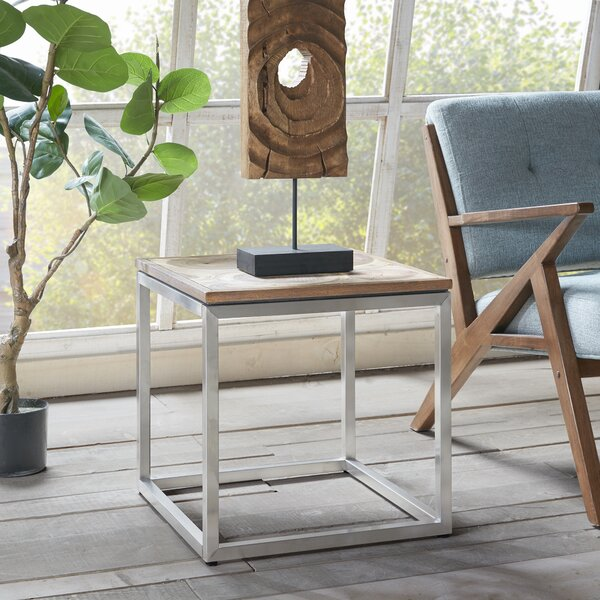 Lombardo End Table by 17 Stories