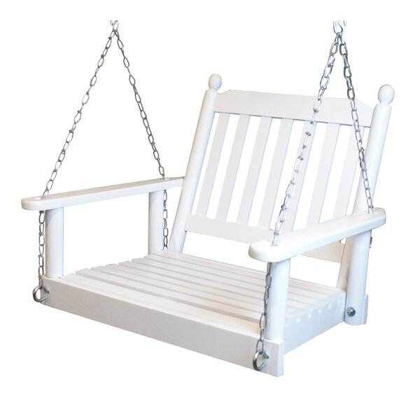 Woodall Single Person Porch Swing by Rosalind Wheeler Rosalind Wheeler