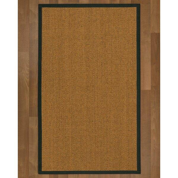 Asmund Handmade Flatweave Brown/Metal Area Rug