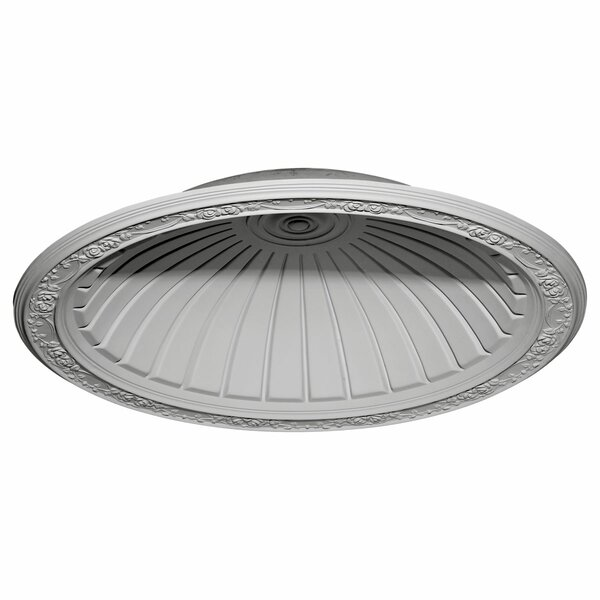 Hamilton 42 7/8H x 42 7/8W x 8 1/4D Recessed Mount Ceiling Dome by Ekena Millwork