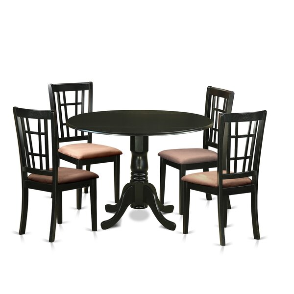 Spruill 5 Piece Extendable Dining Set By August Grove New Design