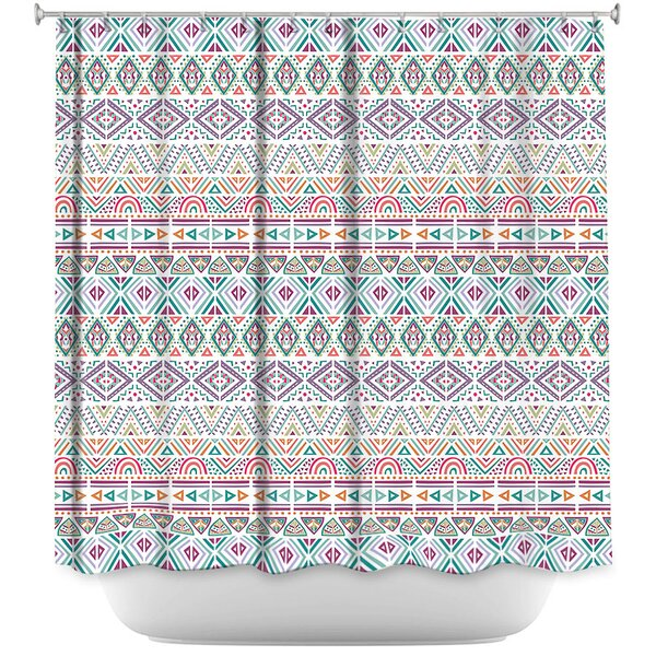 Luff African Dreams Shower Curtain by Latitude Run