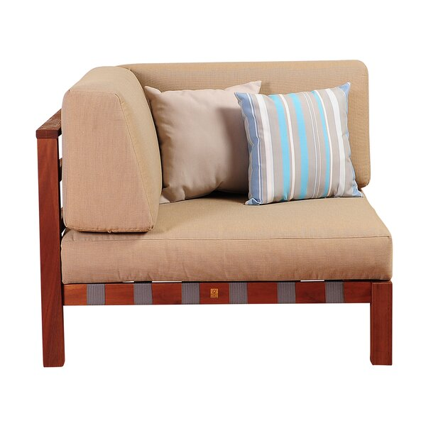 Elsmere Corner Chair with Cushions by Beachcrest Home