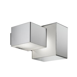 Coupon Domino Inox 2-Light Outdoor Flush Mount By ZANEEN design