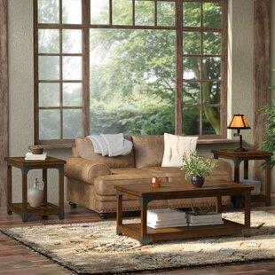 Reviews Heil 3 Piece Coffee Table Set ByLoon Peak