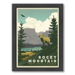 Rocky Mountain Framed Vintage Advertisement by East Urban Home