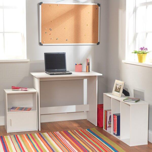 Soho 3 Piece 35.4 W Writing Desk by TMS