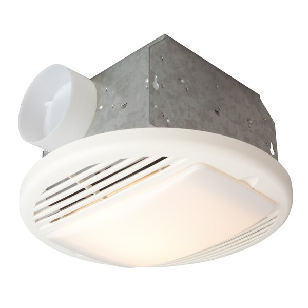 Bathroom Fan with Light by Craftmade