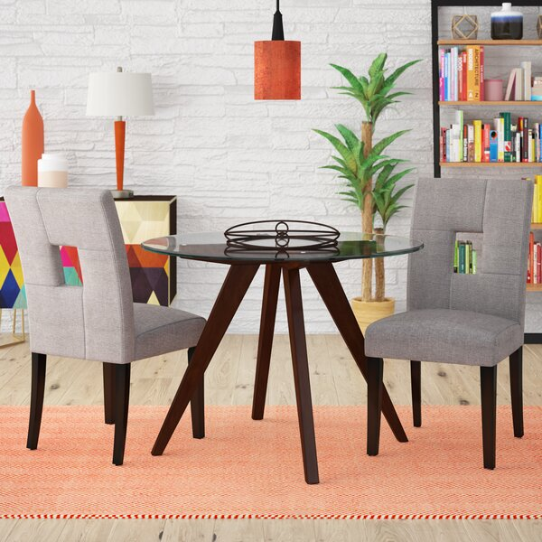 Zarina Upholstered Dining Chair (Set Of 2) By Winston Porter