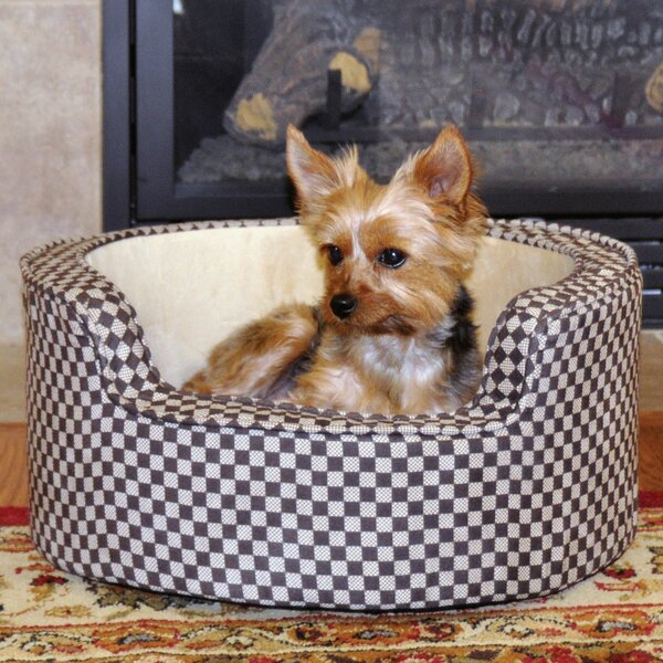 Round Comfy Sleeper Self-Warming Pet Bolster by K&H Manufacturing