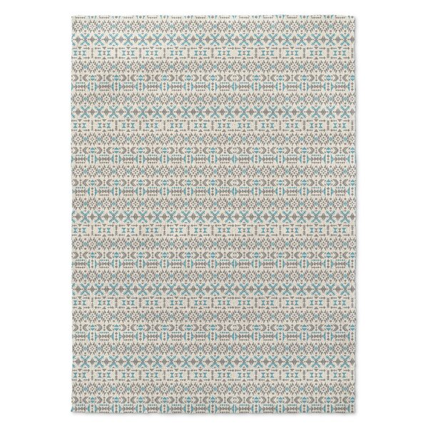 Hudgins Blue/Gray Area Rug by Union Rustic