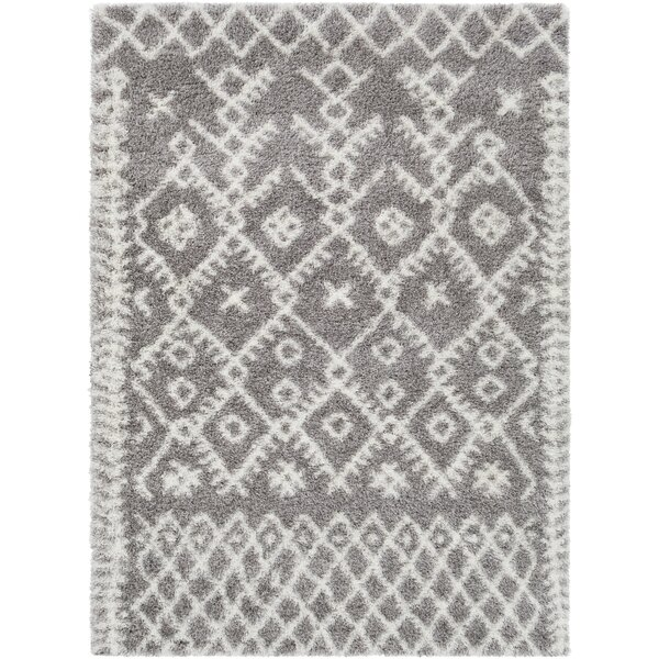 Longstreet Bohemian Taupe/Cream Area Rug by Union Rustic