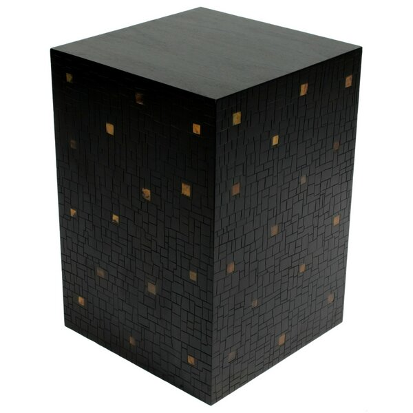 Mosaic Block End Table by Indo Puri