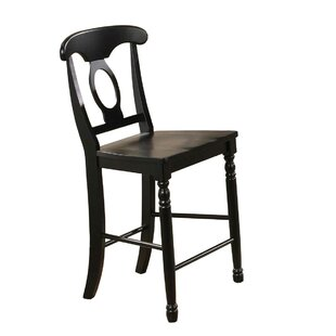 Best Reviews Courtdale 24 Bar Stool (Set of 2) by Three Posts