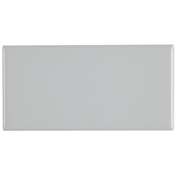 Guilford 3 x 6 Ceramic Subway Tile in Ice Grey by Itona Tile