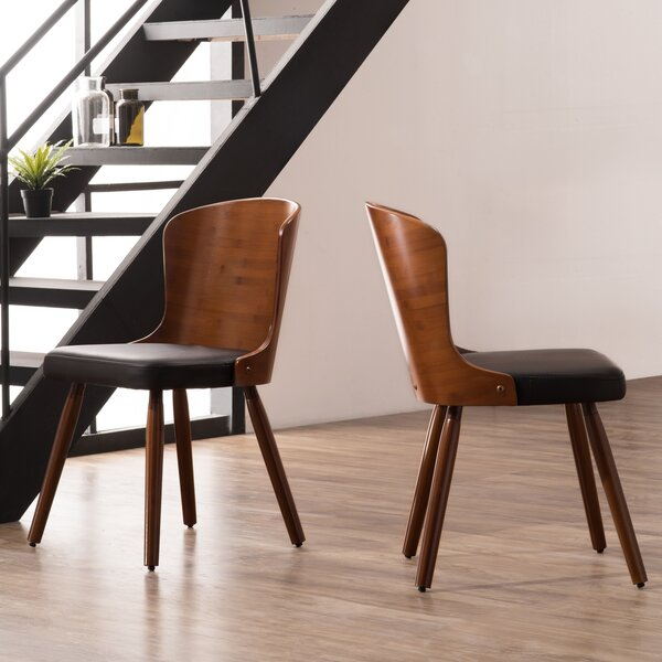 Cottage Upholstered Dining Chair (Set of 2) by Corrigan Studio