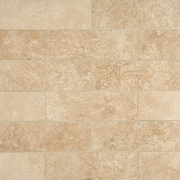 Travertine 4 x 12 Tile in Durango Cream by MSI