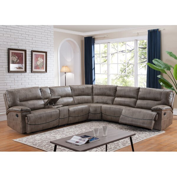 Kuntz Donovan Reversible Reclining Sectional by Red Barrel Studio