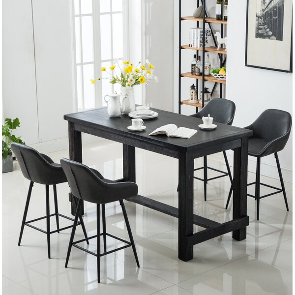 Shoemaker 5 Piece Counter Height Dining Set by Union Rustic Union Rustic