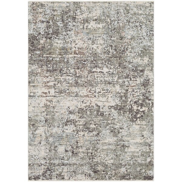 Mckeel Abstract Gray Area Rug by Williston Forge