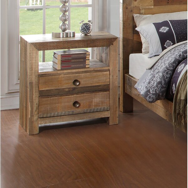Abbey 2 Drawer Nightstand by Mistana