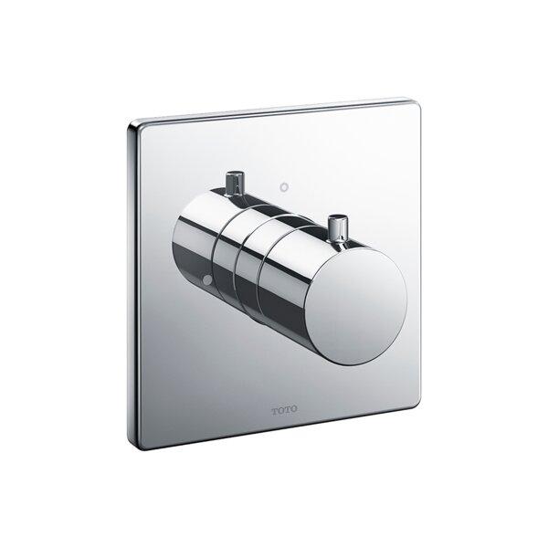 Square Volume Control Valve Shower Trim by Toto