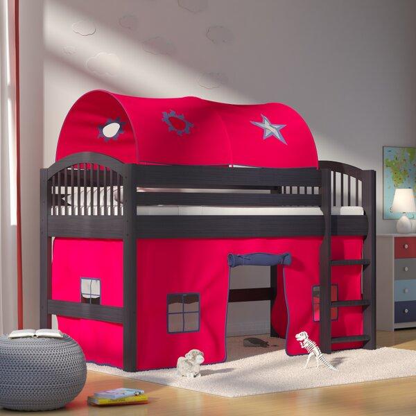 Abigail Twin Low Loft Bed by Zoomie Kids