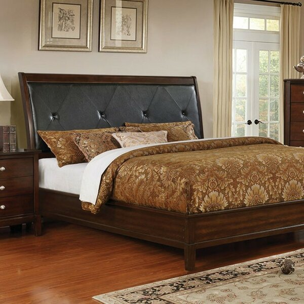 Galiana Upholstered Sleigh Bed by Charlton Home