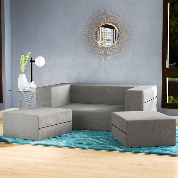 Eugene Sleeper Loveseat by Zipcode Design
