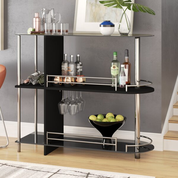 Rowland Bar Cart by Wade Logan
