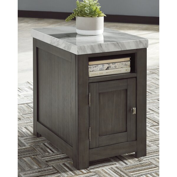 Lauterbach End Table With Storage By Latitude Run