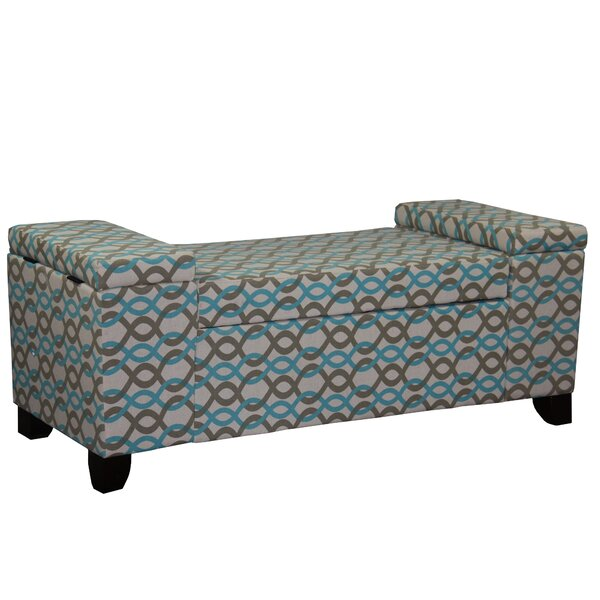 Kromer Upholstered Storage Bench by Viv + Rae