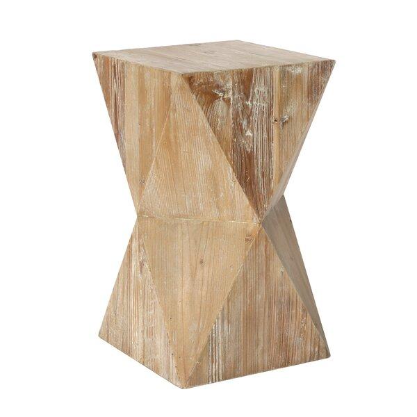 Ramilia Solid Wood End Table By Studio Home Furnishings